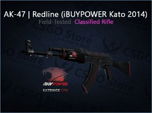 AK-47 | Redline iBUYPOWER Kato 2014 (Field-Tested)
