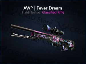 AWP | Fever Dream (Field-Tested)