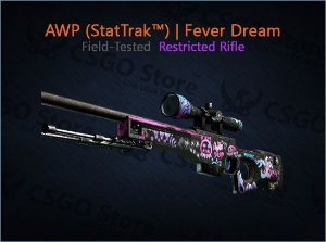 AWP (StatTrak™) | Fever Dream (Field-Tested)