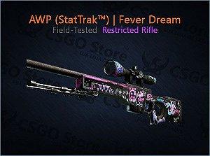 AWP (StatTrak™) | Fever Dream (Field-Tested)