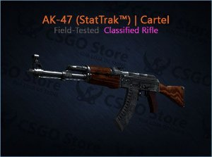 AK-47 (StatTrak™) | Cartel (Field-Tested)