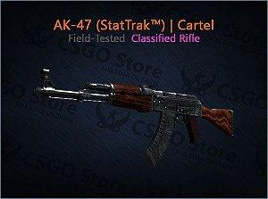AK-47 (StatTrak™) | Cartel (Field-Tested)
