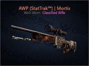 AWP (StatTrak™) | Mortis (Well-Worn)