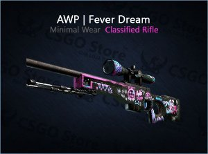AWP | Fever Dream (Minimal Wear)