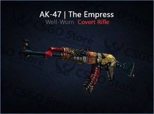 AK-47 | The Empress (Well-Worn)