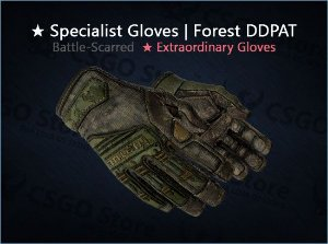 ★ Specialist Gloves | Forest DDPAT (Battle-Scarred)