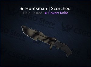 ★ Huntsman Knife | Scorched (Field-Tested)