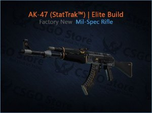 AK-47 (StatTrak™) | Elite Build (Factory New)