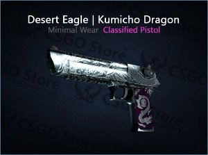 Desert Eagle | Kumicho Dragon (Minimal Wear)