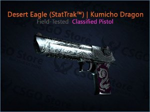 Desert Eagle (StatTrak™) | Kumicho Dragon (Field-Tested)