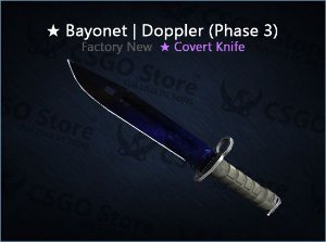 ★ Bayonet | Doppler Phase 3 (Factory New)