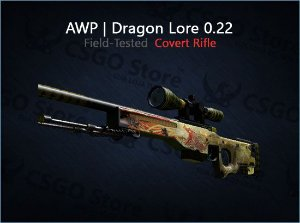 AWP | Dragon Lore 0.22 (Field-Tested)
