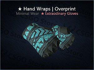 ★ Hand Wraps | Overprint (Minimal Wear)