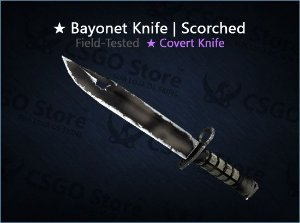 ★ Bayonet | Scorched (Field-Tested)