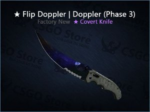 ★ Flip Knife | Doppler Phase 3 (Factory New)