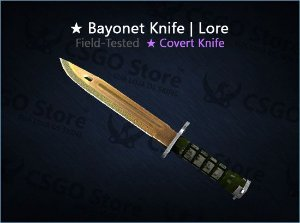★ Bayonet | Lore (Field-Tested)