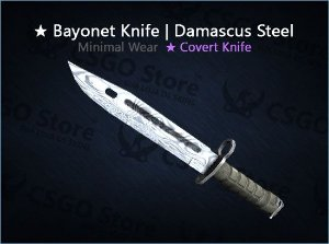 ★ Bayonet | Damascus Steel (Minimal Wear)