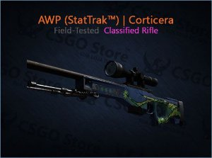 AWP (StatTrak™) | Corticera (Field-Tested)