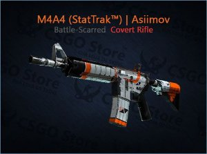 M4A4 (StatTrak™) | Asiimov (Field-Tested)