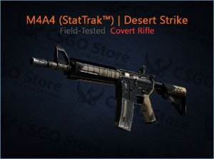 M4A4 (StatTrak™) | Desert-Strike (Field-Tested)