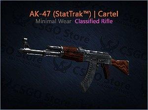 AK-47 (StatTrak™) | Cartel (Minimal Wear)