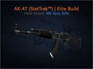 AK-47 (StatTrak™) | Elite Build (Field-Tested)