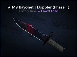 ★ M9 Bayonet | Doppler Phase 1 (Factory New)