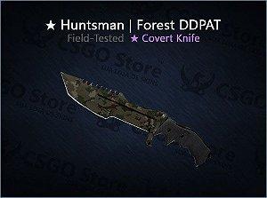 ★ Huntsman Knife | Forest DDPAT (Field-Tested)