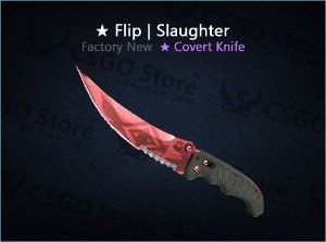 ★ Flip Knife | Slaughter (Factory New)