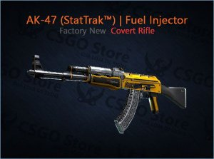 AK-47 (StatTrak™) | Fuel Injector (Factory New)