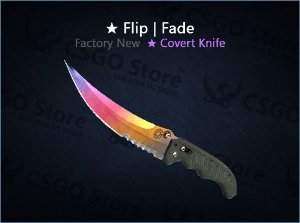★ Flip Knife | Fade (Factory New)