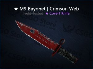 ★ M9 Bayonet | Crimson Web (Field-Tested)
