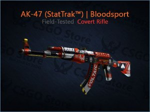 AK-47 (StatTrak™) | Bloodsport (Field-Tested)