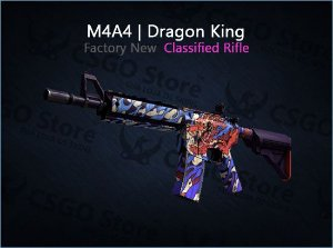 M4A4 | Dragon King (Factory New)