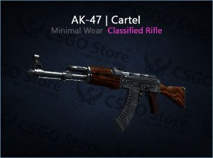 AK-47 | Cartel (Minimal Wear)