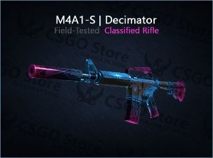 M4A1-S | Decimator (Field-Tested)