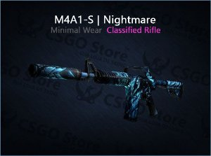 M4A1-S | Nightmare (Minimal Wear)