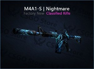 M4A1-S | Nightmare (Factory New)