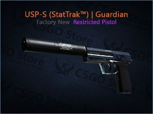 USP-S (StatTrak™) | Guardian (Factory New)