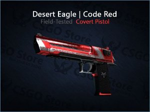 Desert Eagle | Code Red (Field-Tested)