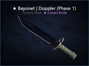 ★ Bayonet | Doppler Phase 1 (Factory New)