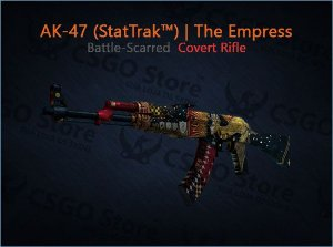AK-47 (StatTrak™) | The Empress (Battle-Scarred)