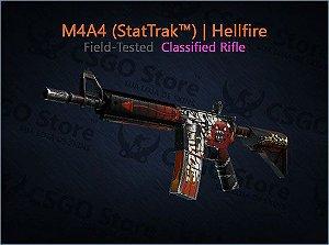 M4A4 (StatTrak™) | Hellfire (Field-Tested)