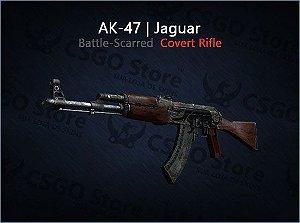 AK-47 | Jaguar (Battle-Scarred