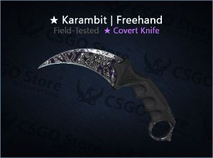 ★ Karambit | Freehand (Field-Tested)