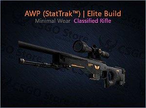 AWP (StatTrak™) | Elite Build (Minimal Wear)
