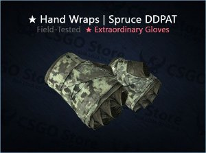 ★ Hand Wraps | Spruce DDPAT (Field-Tested)