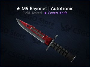 ★ M9 Bayonet | Autotronic (Field-Tested)