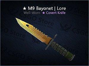 ★ M9 Bayonet | Lore (Well-Worn)