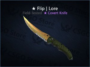 ★ Flip Knife | Lore (Field-Tested)
